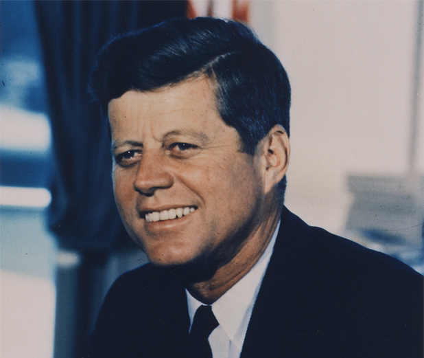 Portrait Photograph, President John F. Kennedy. White House | US National Archives