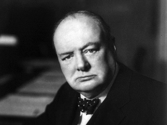 Winston Churchill pictured in 1941