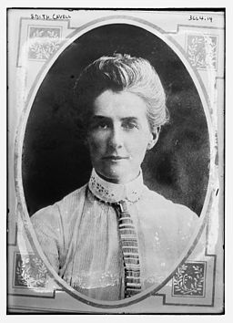 Portrait of Edith Cavell