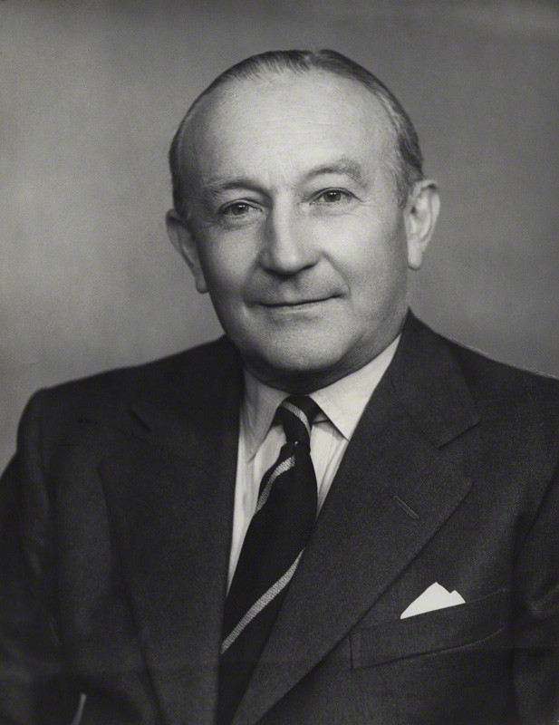 Sir Frank Roberts. Credit: National Portrait Gallery