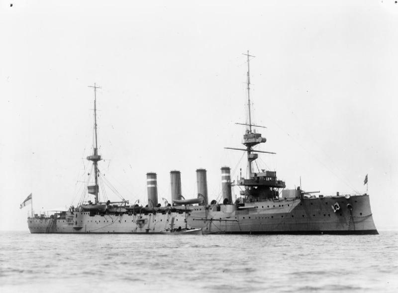 HMS Hampshire By H. Symonds & Co—IWM shows no record of which specific employee of this company took the picture [Public domain], via Wikimedia Commons