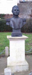 Bust of Bernado O'Higgins, Richmond Bridge, Surrey