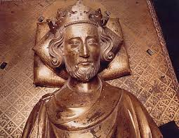 Henry III from his tomb in Westminster Abbey (public domain)