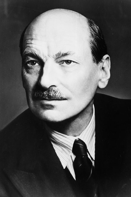 Portrait of Clement Attlee