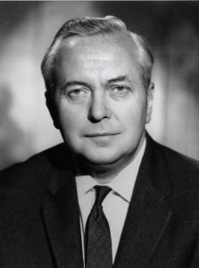 Portrait of Harold Wilson