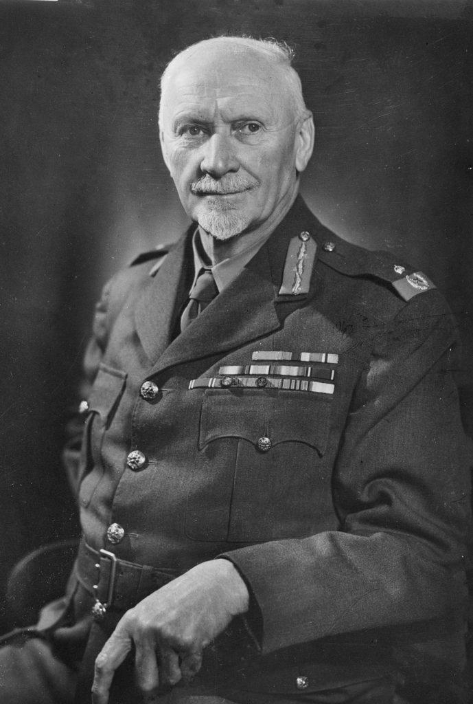 Portrait of Field Marshal Jan Christiaan Smuts