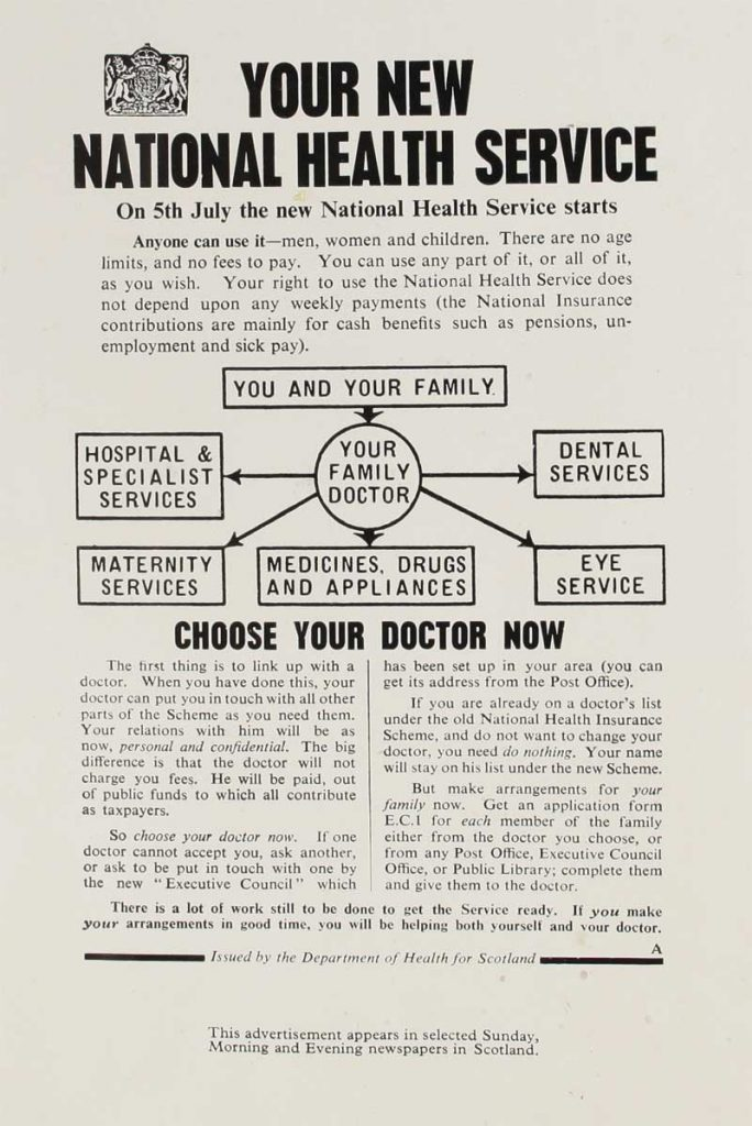 National Health Service leaflet, May 1948, INF 2/66, page 15, The National Archives