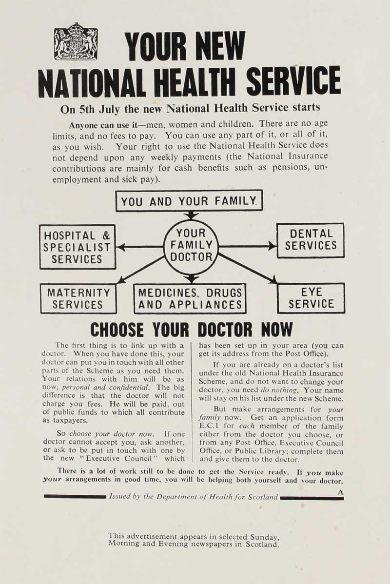 From Caution to Celebration: The NHS at 70 - History of
